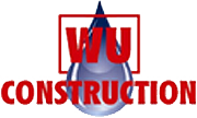 WU Construction, header logo
