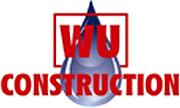 WU Construction, header logo